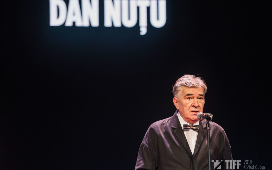 Aristoteles Workshop founder Dan Nuțu honoured with Excellence award at TIFF